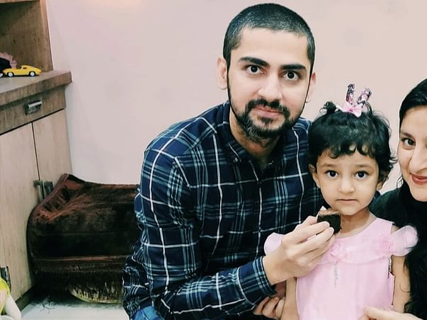 A young father died too soon, he had big plans for his little girl
