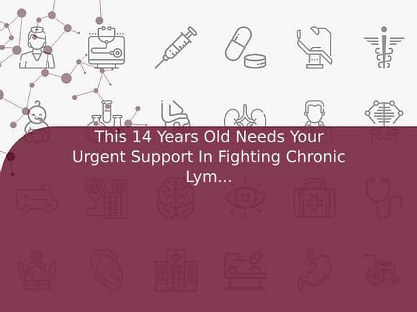 This 14 Years Old Needs Your Urgent Support In Fighting Chronic Lymphocytic Leukemia (Cll)
