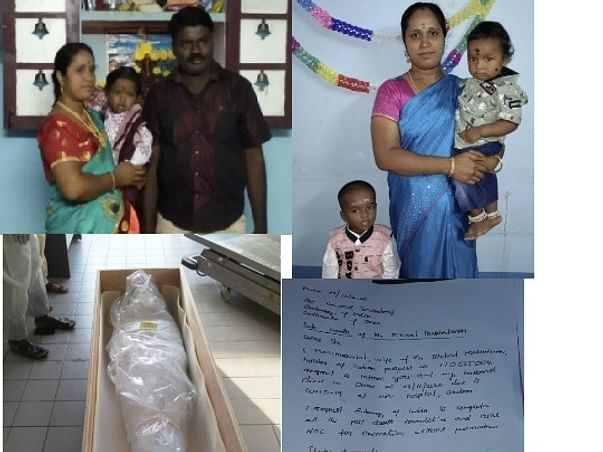Help a family, lost the only bread winner due Covid