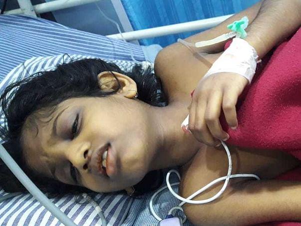 8 Years Old Grimsha Shambharkar Needs Your Help Fight Wilson's Disease