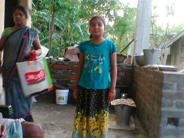 12 years old Kajal needs your help fight large cell lymphoma