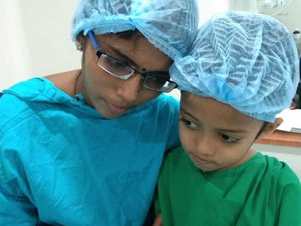 7 years old Kamesh needs your help fight Hodgkin's lymphoma