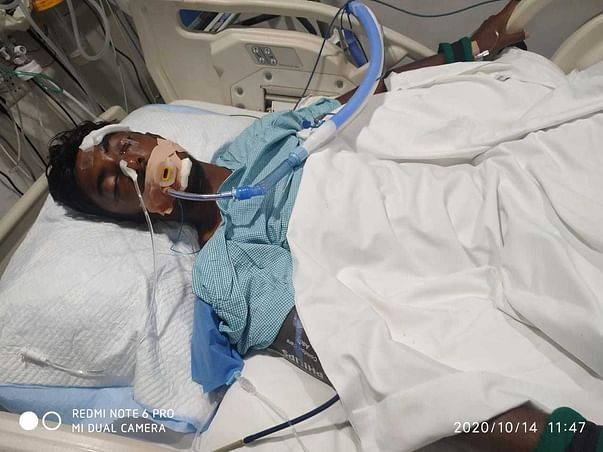 19 years old S Sridhar needs your help fight Road accident with polytrauma