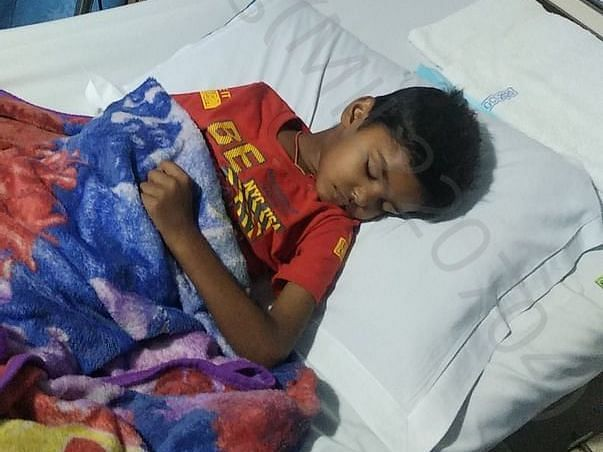 Need money help for Blood Cancer treatment of prince. Please donate.