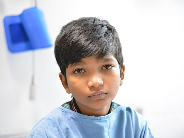 11 year old Bharath needs a transplant and he needs your helo