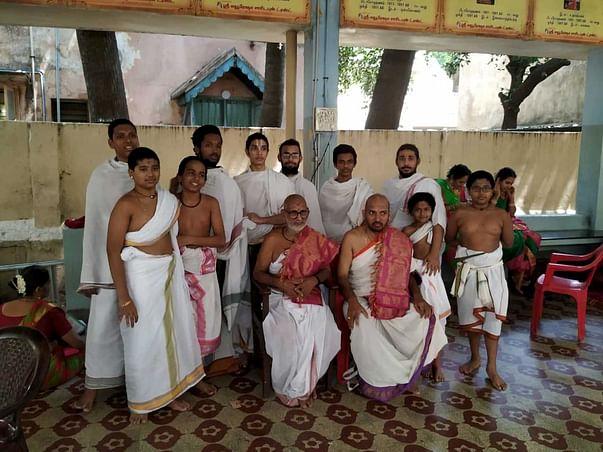 Support Sri Mahaperiyava Anugraha Vedapatashala