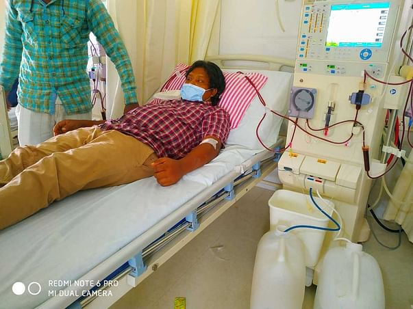 Support Murali A fight/recover from Kidney transplantation
