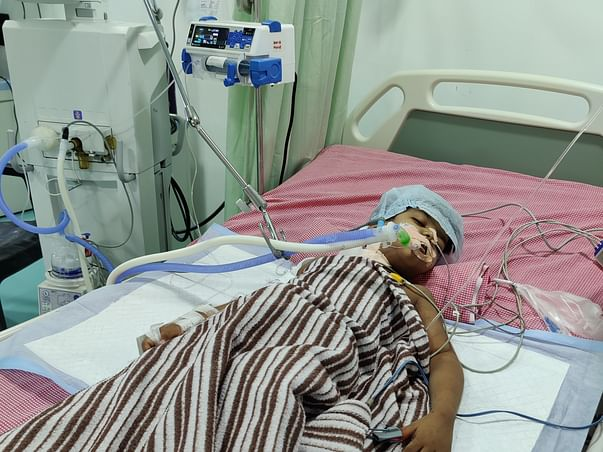 Please Save my son to fight with acute kidney disease Gr-IV VUR,CKD-ES