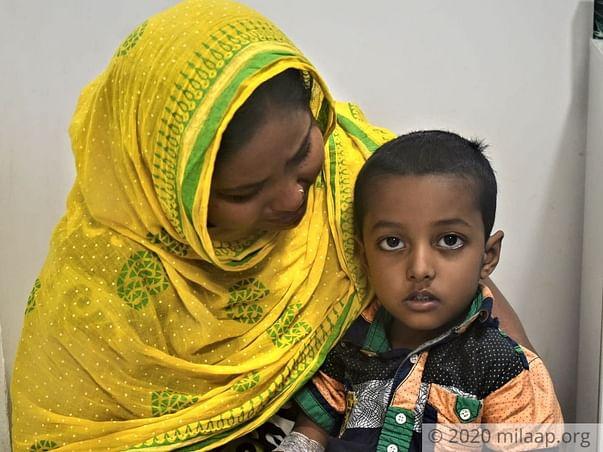 4 years old Rahil Abbas needs your help fight Acute lymphoblastic leukemia (all)