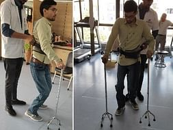 Help Deepak to Walk After 7 Years by Little Donation