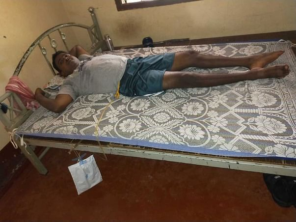 37 years old Jagadish needs your help fight Traumatic spinal injury