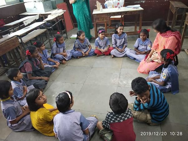 Project Mumbai for Municipal school children