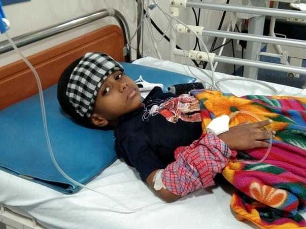 6 years old Saad needs your help fight Acute Myeloid Leukemia