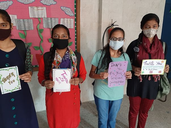 Let's help underprivileged girl students pay CBSE fees and write exams
