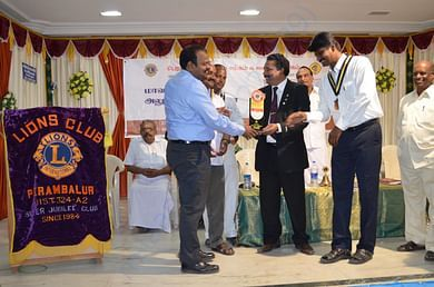 HUT selected as the best social service organisation by Lions Club