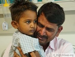 4 years old Master Gowtham needs your help fight Leucocyte adhesion deficiency