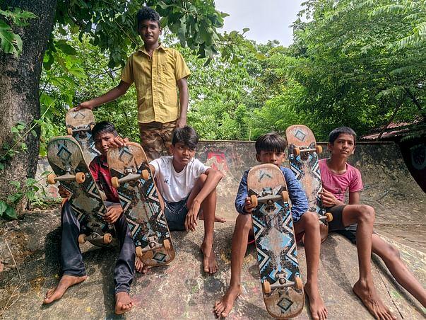 Raising funds to re-build the Village Skatepark at Cirrus, Anjuna, Goa