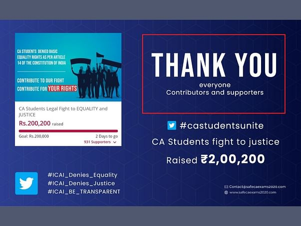 CA Students Legal Fight to EQUALITY and JUSTICE