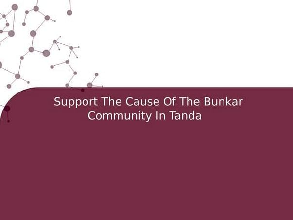 Support The Cause Of The Bunkar Community In Tanda