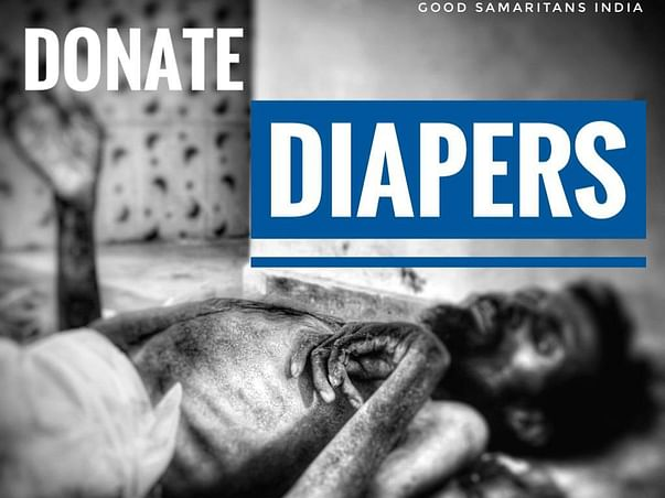 Donate Adult Diaper 4 Abandoned Aged Citizens.