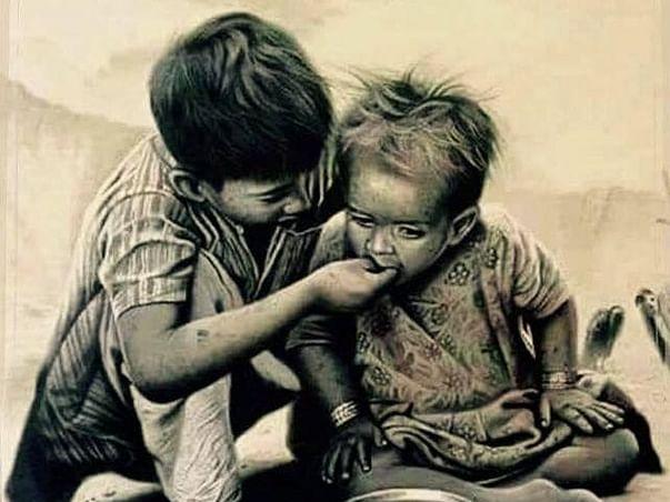help the poor people