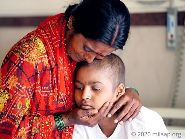 13 years old Geeta Gore needs your help fight humerus osteosarcoma