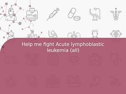 Help me fight Acute lymphoblastic leukemia (all)