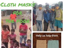 Help Aditya And Yatharth Give Masks To The Economically Disadvantaged
