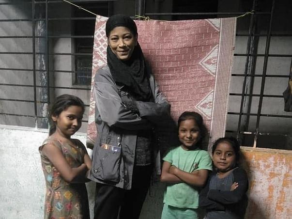 #YHRIBornFree Helps The Poor