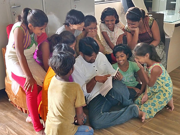 Help Santosh look after the lives of 107 orphan children