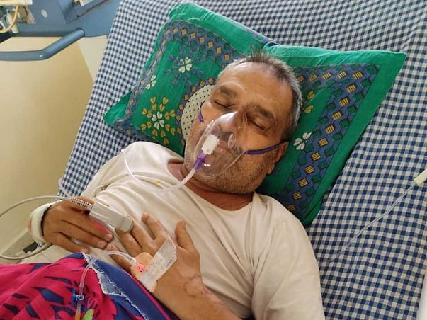 Support Rajendra Jain patrakar fight From Severe Kidney Lung Infection