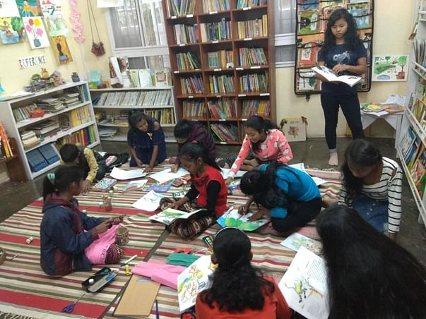 Support NEET's free community library for under privileged children