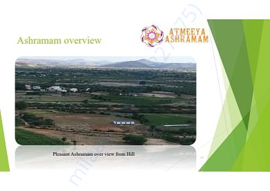 Pleasant view of Ashramam