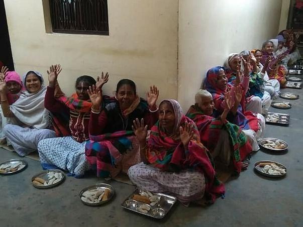 Donate to help elderly women and widows survive