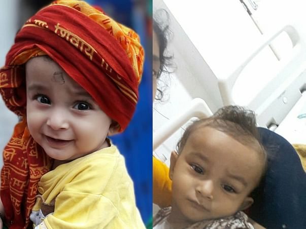 1-year-old Baibhab needs your support to fight the battle with Cancer