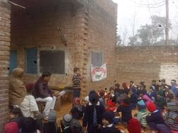 Development of village school To help village students.