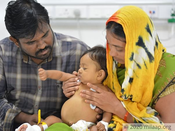 Support Baby Shahina for her Liver Transplant