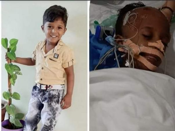 4 years old Utkarsh Appanna needs your help fight Multiple disease of brain, heart, lungs and blood sugar