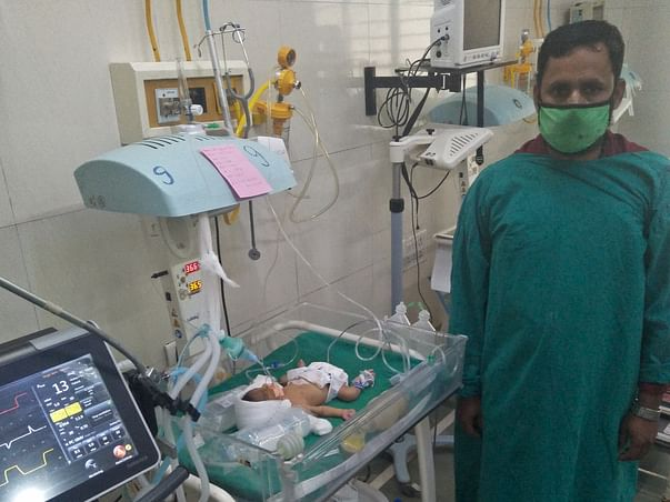 Support Baby Of Punam Pankaj Bhaleroa Fight From Premature Baby