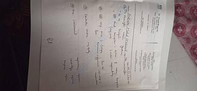 Orthopaedic doctors notes