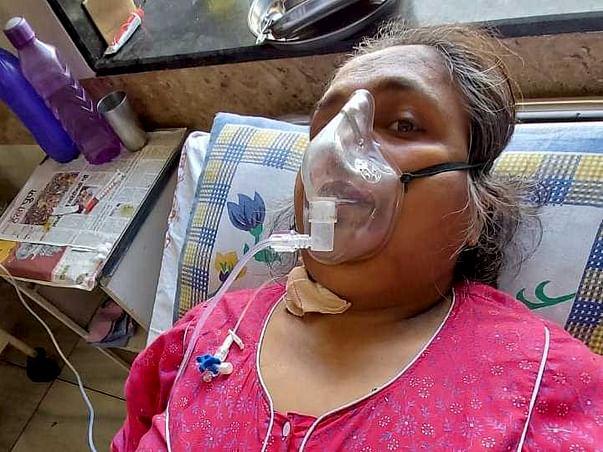 Support Neeta Rajkumar Naidu Recover From Blood Clot