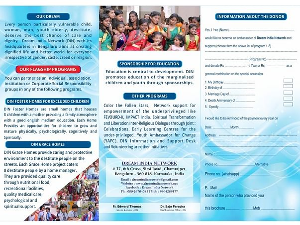 Join your hands to support underprivileged children education