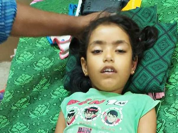 7 Years Old Yuvarani Needs Your Help Fight Head Injury