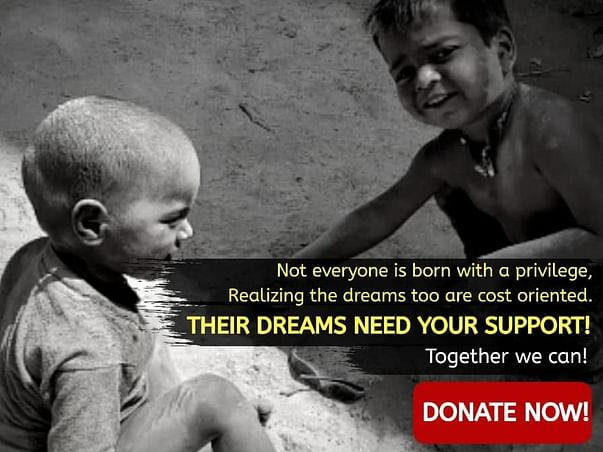 Save 250+ Children's Dreams from Crushing Down During Difficult Time
