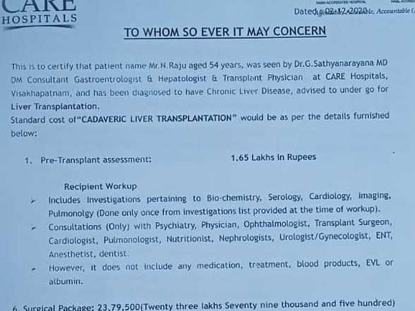 Help My friend Father Nimushakavi Raju Recover From Multiple Diseases