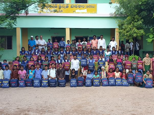 Support Poor Students for their Educational Needs