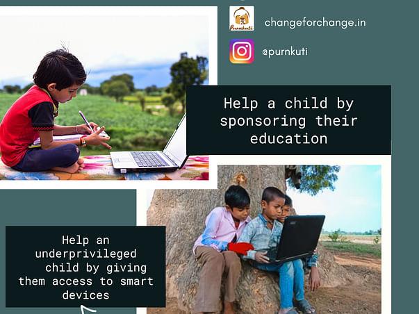 Sponsor poor children's education