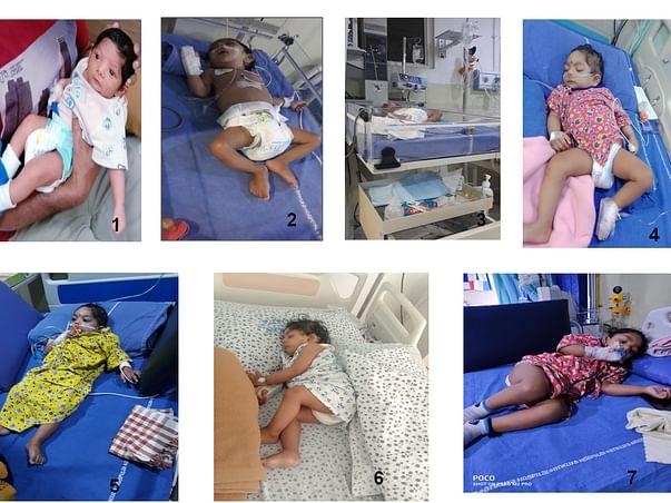 HELP TO P.DURGA PRASAD FOR HIS SON SAURAV GENETIC  TREATMENT PURPOSE.