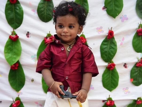 1 year old John Sameer needs your help fight Nephrotic syndrome