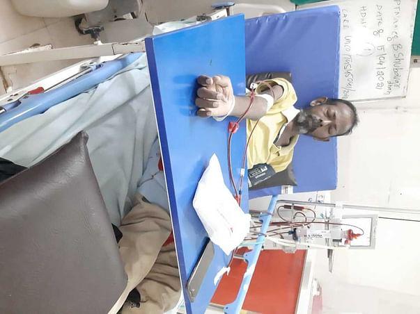 Support  Boda Shubhavardan To Undergo Kidney Transplantation